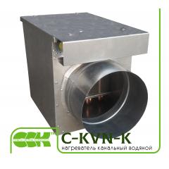 С-KVN-K воздухонагреватель водяной канальный круглый