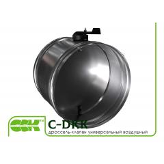 C-DKK дроссель-клапан воздушный универсальный круглый