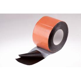 Битумная гидроизоляционная самоклеющаяся лента Plastter 30x1000 см терракотовая