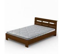 Ліжко Компаніт Стиль-140 144х76х213 мм горіх