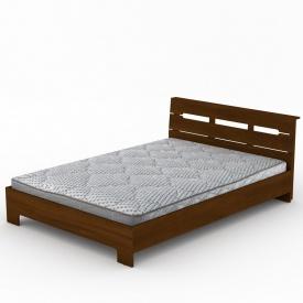 Кровать Компанит Стиль-140 144х76х213 мм орех