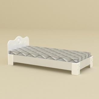 Кровать Компанит 100 МДФ нимфея альба