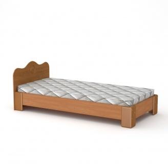 Кровать Компанит 100 МДФ ольха