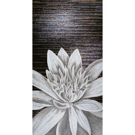 Художественное панно из стеклянной мозаики D-CORE 1500х2900 мм (si07)
