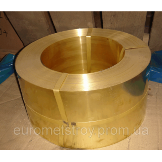 Лента бронзовая 0,6 мм ОЦС