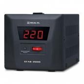 Стабілізатор напруги REAL-EL STAB-2000 (EL122400009)