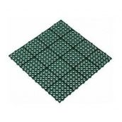 Газонна решітка Альта-Профіль універсальна 10,5 мм 333х333 мм зелений