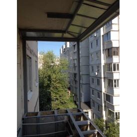 Сварка металлоконструкций для монтажа выносного балкона