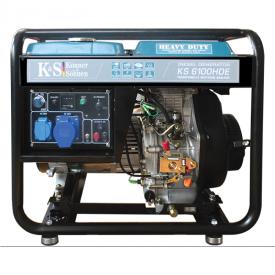 Дизельний генератор Konner&Sohnen KS 6100HDE