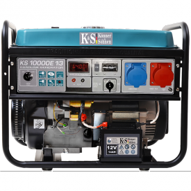 Генератор бензиновий Konner&Sohnen KS 10000E 1/3