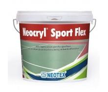Полимерно-модифицированное покрытие Neotex Neocryl Sport Flex 12 кг green
