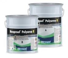 Гидроизоляционное покрытие для крыш Neotex Neoproof Polyurea R A+B полимочевина white 19 кг