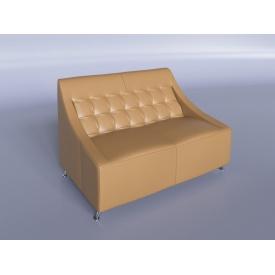 Офісний диван Sentenzo Поліс 1380х880х820 мм бежевий
