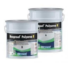 Гідроізоляційне покриття для дахів Neotex Neoproof Polyurea R A+B полімочевина white 19 кг