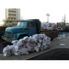 Вывоз строительного мусора автомобилем ЗИЛ