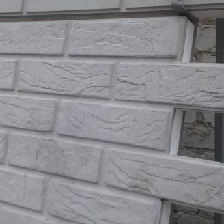 Термопанель Полифасад ПБС-С-25-100 белый цемент 13 кг/м3 500х500 мм