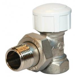 """Кран Royal Thermo вентильный термостатический угловой для радиатора 1/2"""""""