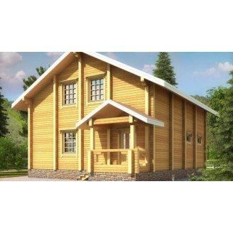 Дом из профилированного бруса 12х9 м