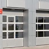 Секционные ворота ALUTECH AluTrend АЛПС микроволна 40 мм