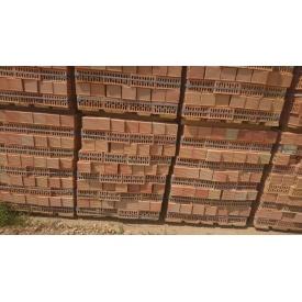 Кирпич стеновой пустотелый полуторный 250х120х88 мм красный