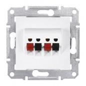 Аудіорозетка Schneider Electric Sedna SDN5400121 71х71х44,5 мм білий
