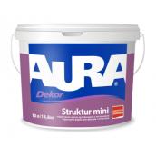 Краска структурная Aura Dekor Struktur mini 9,5 л