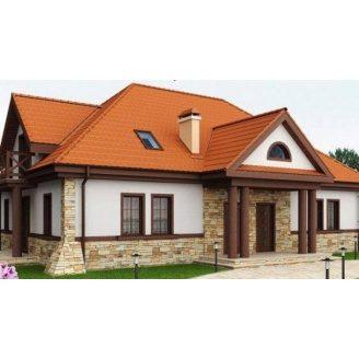 Дом из профилированного бруса 17х12 м
