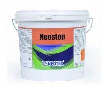 Быстросхватывающийся цементирующий раствор Neotex Neostop для герметизации утечек и пятен сырости 5 кг