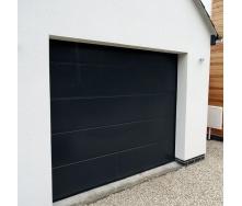 Секційні гаражні ворота Alutech Trend L-гофр