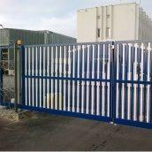 Распашные ворота Alutech Comfort экструдированный алюминиевый профиль