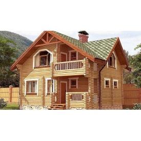 Будинок деревяний з оциліндрованої колоди 7х9 м