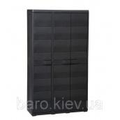 Шкаф трехдверный Elegance S черный Toomax