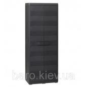 Шкаф двухдверный Elegance S черный Toomax