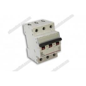 Автоматичний вимикач DX-63 3P 25A 6kA AC