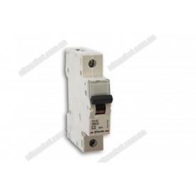 Автоматичний вимикач Zuver 1п 2 А тип С