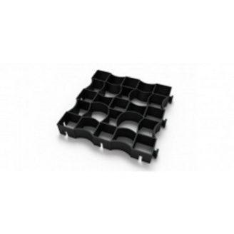 Газонна решітка Ecoteck Maneg чорна