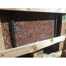 Гранитная плитка полированная Капустянского месторождения 300х600х20 мм