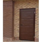 Двері DoorHan бічні вхідні гаражні 980х2050х40 мм