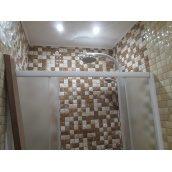 Облицовка стен плиткой до 60 см