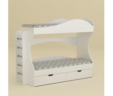 Ліжко Компаніт Бріз 74х167х209 німфея альба