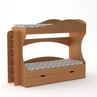 Кровать Компанит Бриз 74х167х209 бук