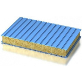 Сэндвич панель сендвич стеновая МВ 100 мм