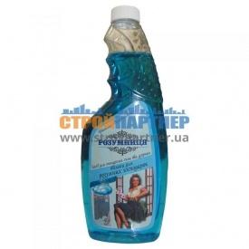 Средство для мытья стекла и зеркал Розумниця без распылителя 0,5 л