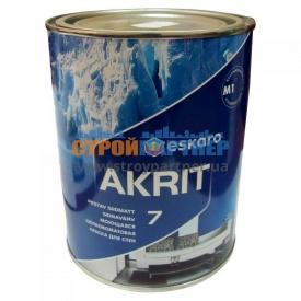 Краска Eskaro Akrit 7 моющая шелково-матовая для стен 0,95 л