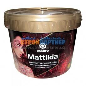 Краска Eskaro Mattilda матовая моющая интерьерная 9,5 л