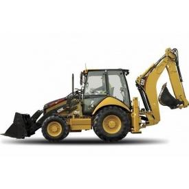 Оренда екскаватора-навантажувача Caterpillar 428E