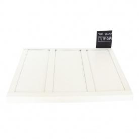 Реечный потолок Бард ППР-084 белый матовый-белый матовый комплект 100x100 см