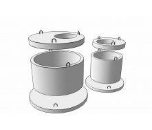 Плита перекрытия колодца 1ПП30-2