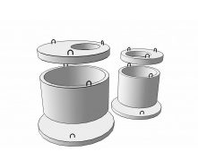 Плита перекрытия колодца ПП 10-2