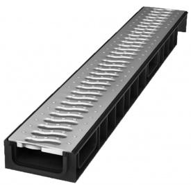 Лоток пластиковый 100.65 69 мм с пластиковой решеткой